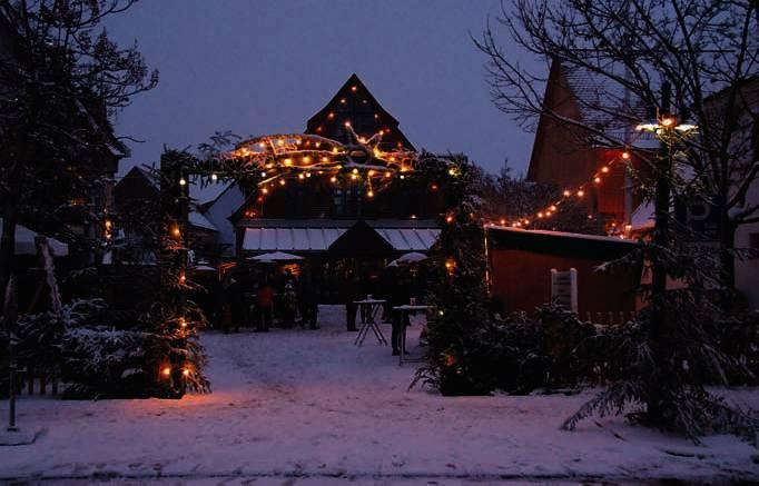 Offenbach Weihnachtsmarkt.Die Lokale Rund Ums Kulturzentrum